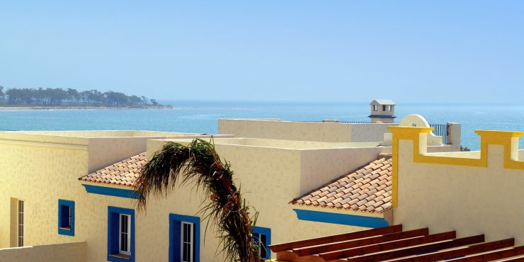 Beautifully Situated Plot in Vera Playa with Beach and Sea Views