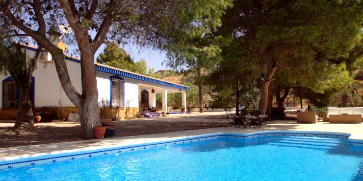 Gorgeous Property in Bird Sanctuary for Sale in the Mountains of Aguilas