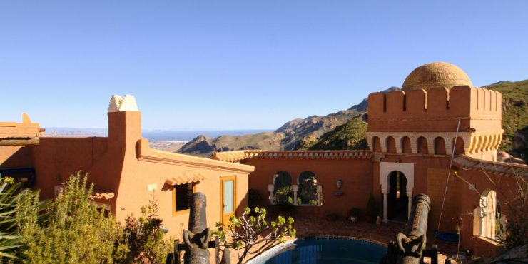 Small Palace in Sierra Cabrera with Stunning Sea View