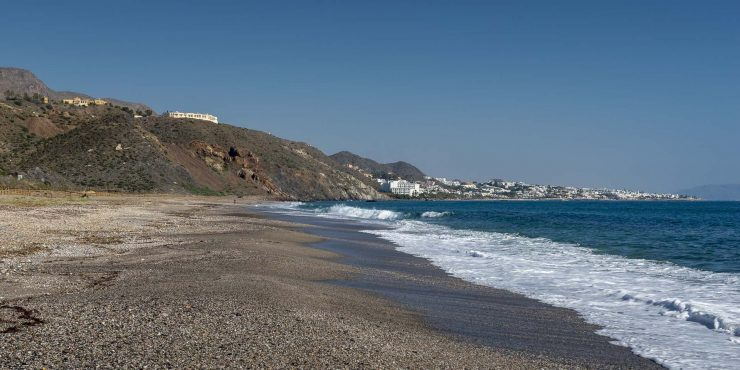 Two Luxury Seafront Villas on Private Hilltop for Sale in Mojacar Playa