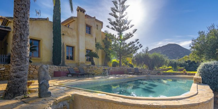 Very Special Country House in Mojacar hills