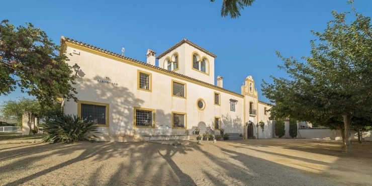 El Albardinar Estate: Spectacular hacienda near Mojacar with hotel project, plantation and development site