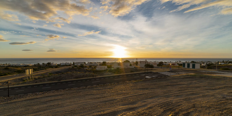 Building Plots in Mojacar Playa in an excellent location with magnificent views