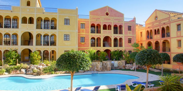 The Golf Residence at Desert Springs Resort with 5% guaranteed Return on Investment