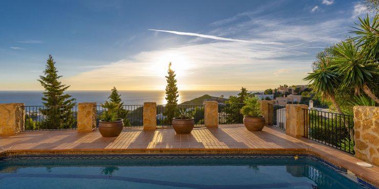 Distinctive Villa Overlooking Mojacar Playa