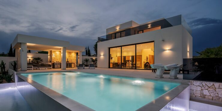 Newly Completed, Exclusive Luxury Villa in Valle del Este